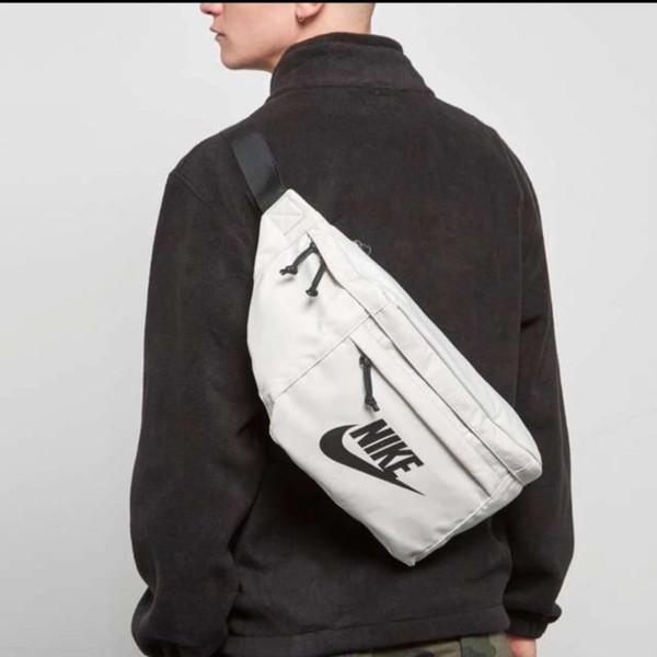 Büyük Boy mektuplar ile Crossbody Çanta Bel çantası Marka Yeni Göğüs Çanta Unisex Moda Spor Tek Omuz Çantaları