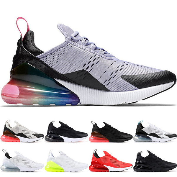 172b613640d2 270s Be True Cushion Men Running Shoes 27C Bruce Lee Tiger Triple Black  White Teal Photo Blue 270 Women Trainer Sports Sneakers 36-45