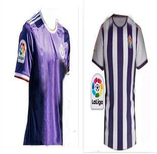 top popular Free shipping 19 20 Real Valladolid Thailand soccer jerseys 2019 2020 Real Valladolid HOME away football shirts No customization 2019
