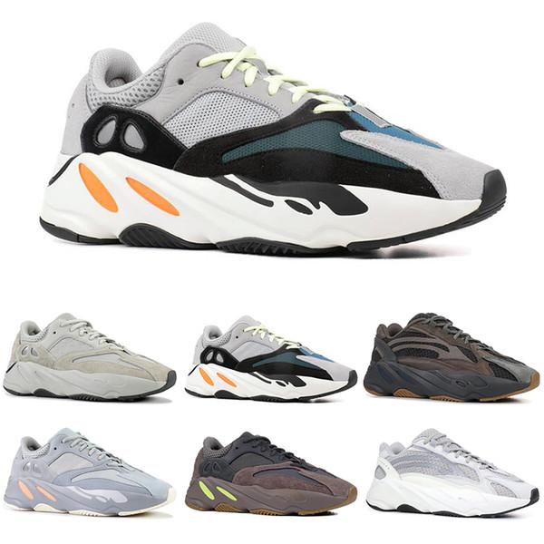 Обувь Wave Runner 700 прибыла, Kanye West выпустила Vanta Salt Inertia Geode - Runner 700 v2 Статические лиловы