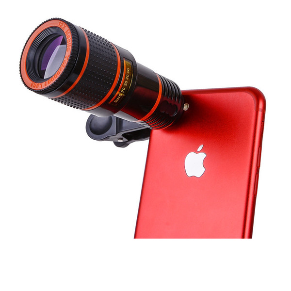 12x Mobile Phone Telephoto Telescope Lens c Camera 12 Times Zoom Focus External Phone Lens