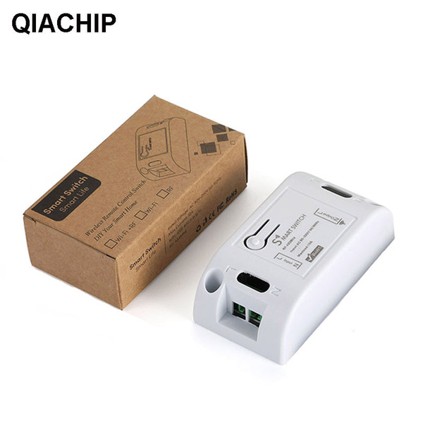 QIACHIP 433 MHz Universal Wireless AC 110V 220V 1 CH Remote Control Switch RF Relay Receiver Module For LED Light Lamps Fans DIY