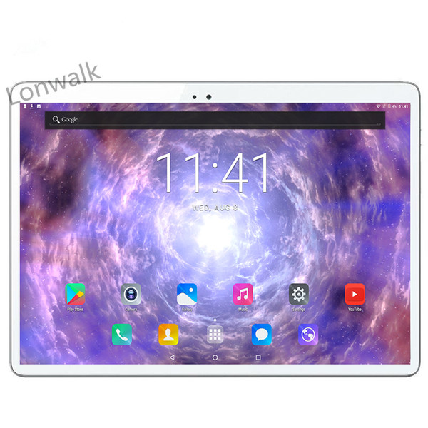 DHL Free Shipping 10 inch tablet pc Deca 10 core MTK6797 3G 4G GPS Android 7.0 4GB 64gb Dual Camera 8.0MP 1920*1200 IPS Screen