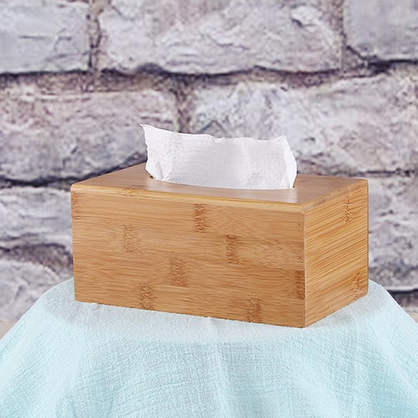 19*12*9cm Wooden Tissue Box Classic Napkin Holder Home Room Car Hotel Kitchen Tissue's Container Paper Holder Box 3