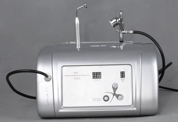 Portable oxygen Jet Peel facial machine for skin rejuvenation GL6 Small O2 Skincare Product Infusion System Factory Supply