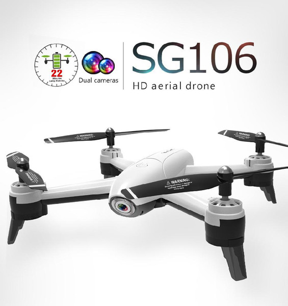 glamorousparty / LeadingStar SG106 WiFi FPV With 1080P Wide Angle Camera Optical Flow Positioning RC Drone Quadcopter RTF