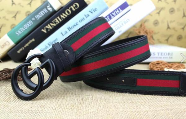 Ceintures de créateurs de haute qualité pour hommes Ceintures de jeans Ceintures Cummerbund Pour hommes Femmes Boucle En Métal Boucle Noire