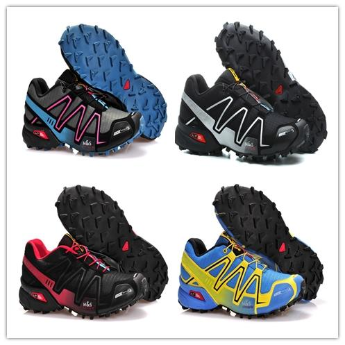 Acquista Salomon Speed Cross 4 Salomo Speedcross 4 IV CS Scarpe Da Corsa Trail Nero Arancione Blu Speed Cross 4 Donna Uomo Allenatore Sneaker