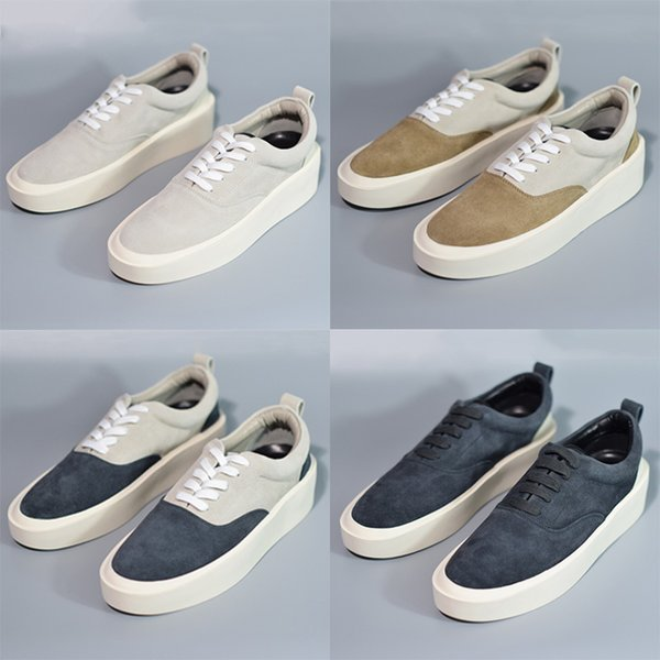 Nouvelle Arrivée Peur De Dieu Marque Italienne 101 Sports Chaussures Mode Hommes Casual Sneakers Chaussures Designer