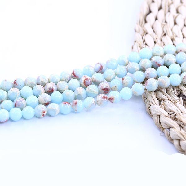 Agalmatolite Emperor Natural Stone Gemstone Bead 4-10 mm 15 pulgadas Strand por juego para hacer joyas