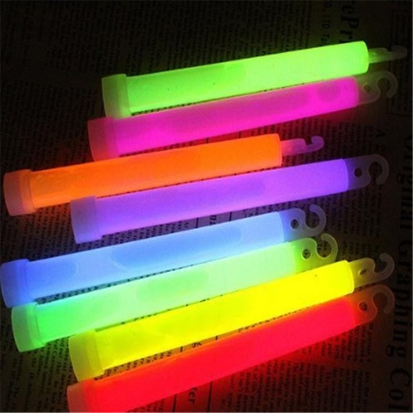 6 inches Fluorescent Glow Stick Light Stick Premium Bright Glowing Neon Stick For Party Bar Decoration 0715ayq