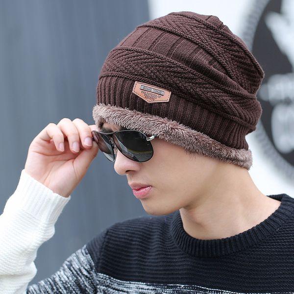 separate brown hat