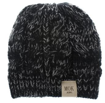 #7 knitted beanie hat