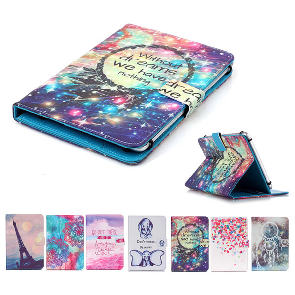 Universal 7 inch Tablet Case for Huawei MediaPad T2 7.0 Pro kickstand Flip Cover Cases for Huawei MediaPad T1 7.0 Plus