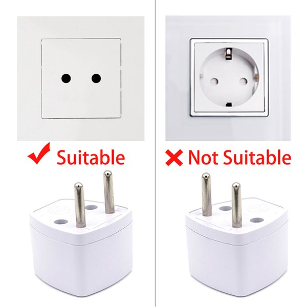Convertitore adattatore per caricabatterie universale nel Regno Unito US EU AU plug AC Travel Power Plug Caricabatterie Adattatori Pin del connettore Presa Convert