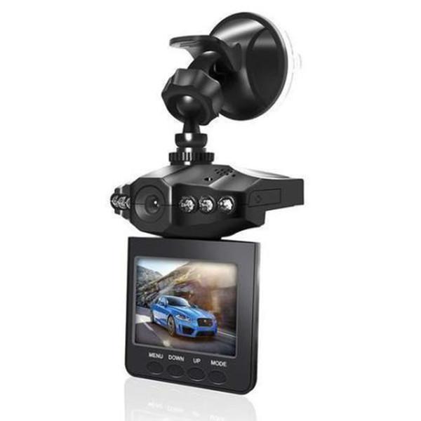 2.4 inç 1080 P Ekran Kızılötesi Trafik Gece Görüş HD Dash kamera Kamera Kamera Geniş Açı LCD Araba DVR Video Takograf Kaydedici