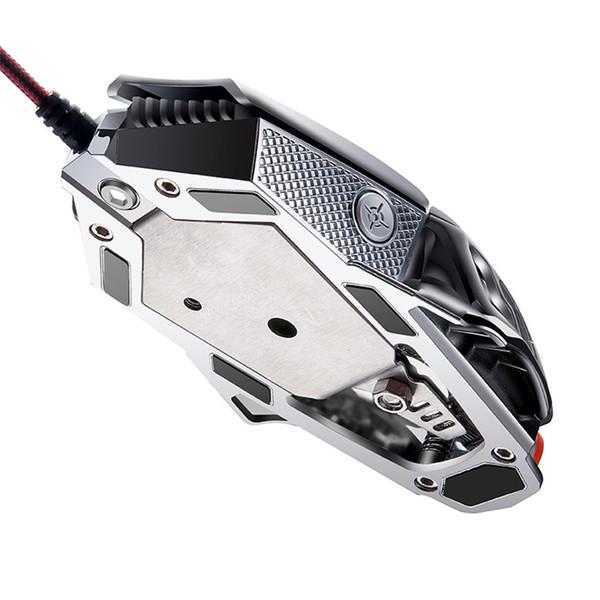 VOBERRY Для V9 2400dpi Professional 6-ключ макропрограммирования мыши L Cable Machinery Подсветка Game Mouse