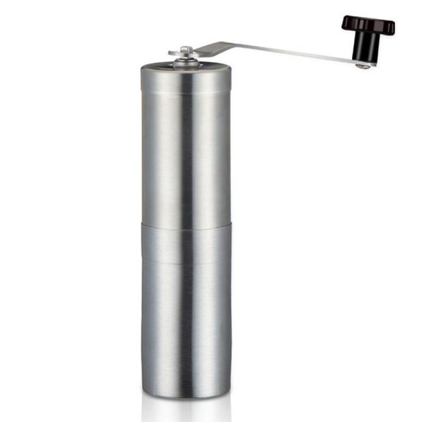 Manual Coffee Grinder with Stainless Steel Handle Precision Brewing Brushed Stainless Steel Manual Grinding Coffee Machine H103