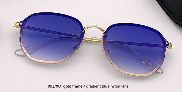 001 / XO gold / градиентный синий