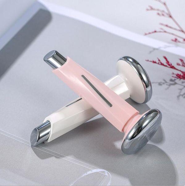 New magnetic small lipstick facial ultrasound instrument eye massage instrument electric beauty equipment
