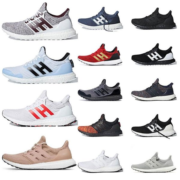 New Ultraboost 19 Game Of Thrones Ultra Boost 4.0 House Stark Lannister Mens Running Shoes Orca Primeknit Sports Trainers Men Women Sneakers Boy