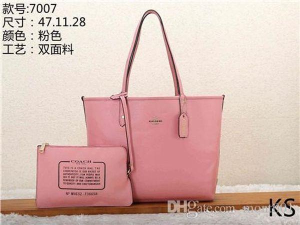 2020 stili di borsa in pelle di moda le donne delle borse Borse di Tela spalla della signora borse in pelle Borse borsa KS 7007-5 mcut001