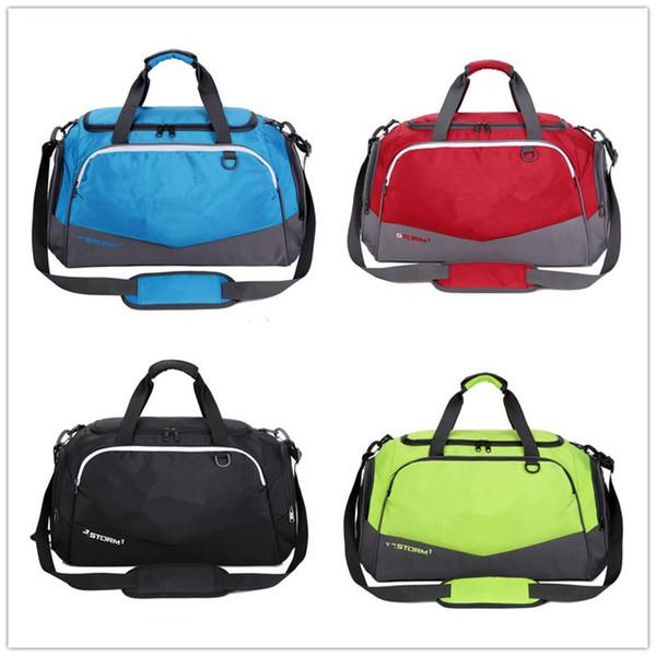 Unisex Duffle Bag Travel Handbag Big Logo Print Waterproof Nylon Shoulder Tote Large Capacity Outdor Sports Gym Bags Designer PacksackB71305