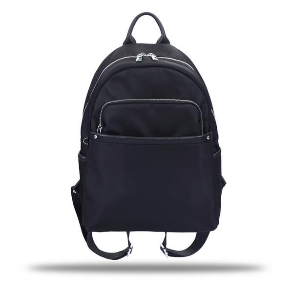 Mochila nueva de Oxford para mujer con mochila de cuero de gran capacidad Versión coreana de la bolsa de estudiantes cruzada con estilo de colegio de ocio
