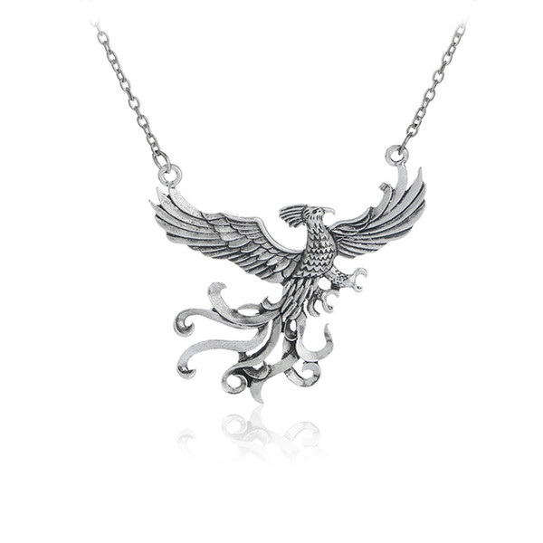 Wholesale Ewelry Charm Phoenix Pendant Link Chain Bird Of Wonder Animal  Necklace HP Rose Gold Necklace Opal Necklace From Yfshore, $3 43| DHgate Com