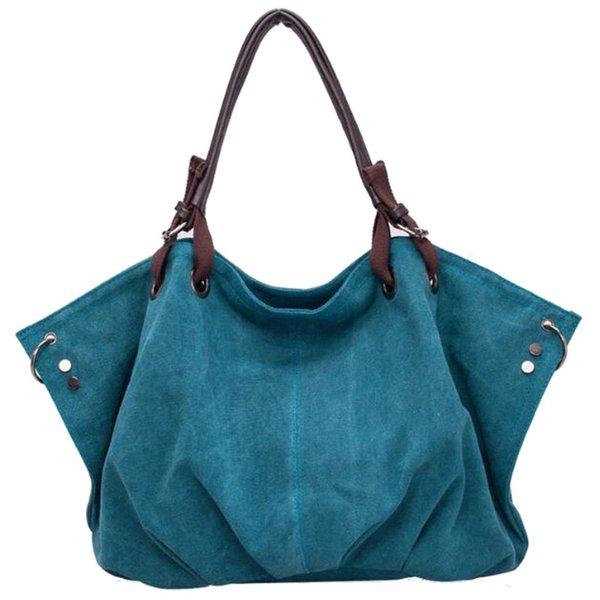 Bolsos de tela de mensajero para el hombro de ocio de moda para mujer # 236379