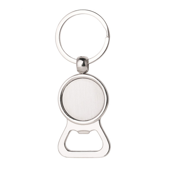 best selling Beer Bottle Opener Key Rings DIY for 25mm Glass Cabochon Keychains Alloy Kitchen Tools Men Gifts Jewelry Engravable Key Rings DHL Shipping