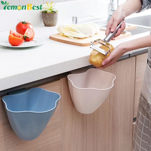 Großhandel Küche Papierkorb Kleinigkeiten Aufbewahrungsbox Schrank Tür  Hängen Mülleimer Büro Müll Organizer Schutt Container Aufbewahrungsboxen  Von ...