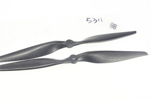 4 Pairs/set 13x4.0 3K Carbon Fiber Propeller CW CCW 1340 CF Props For Quadcopter Hexacopter Multi Rotor UFO with TOP Quality