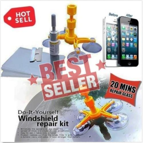 best selling This Magic Repair Kit Can Repair Cracked Phone Screen, Windshield and Any Glass
