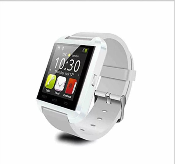 Hot Sales U8 Smart Watch Bluetooth Smartwatch U80 for IPhone 6 / 5S Samsung S6 / Note 4 HTC Android Phone Smartphones Android