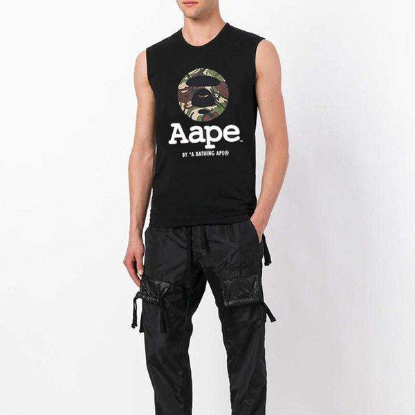 Erkek Kadın Marka Yelekler Moda Yaz Kolsuz Tasarımcı Yelekler 2019 Yeni Varış Erkek Bayan Tankları En Tees Lüks T Shirt
