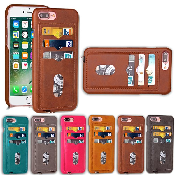 PU Leather Card Wallet Case Cover For Apple iPhone 6 7 8 X 6S Plus XS XR Max
