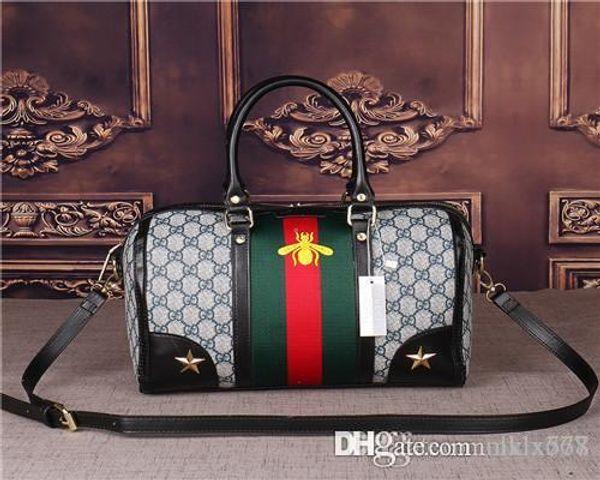 2018 styles Handbag Famous Designer Brand Name Fashion Leather Handbags Women Tote Shoulder Bags Lady Leather Handbags Bags purse406868