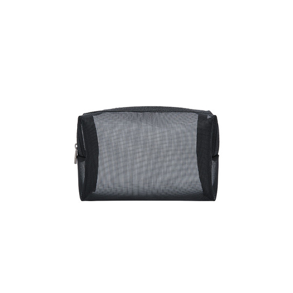 Multifunction Portable Cosmetic Toiletry Travel Storage Women Organizer Mesh Wash Pouch Transparent Makeup Bag Zipper