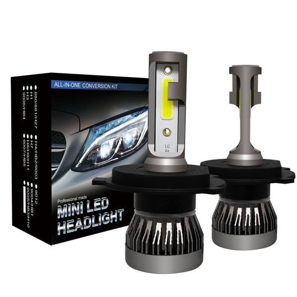 2019 neue 12000 lumen scheinwerfer auto led kopf lampe h4 hb2 9003 hallo / low beam 9005 hb3 h10 9006 hb4 h8 h9 h11 auto lampen
