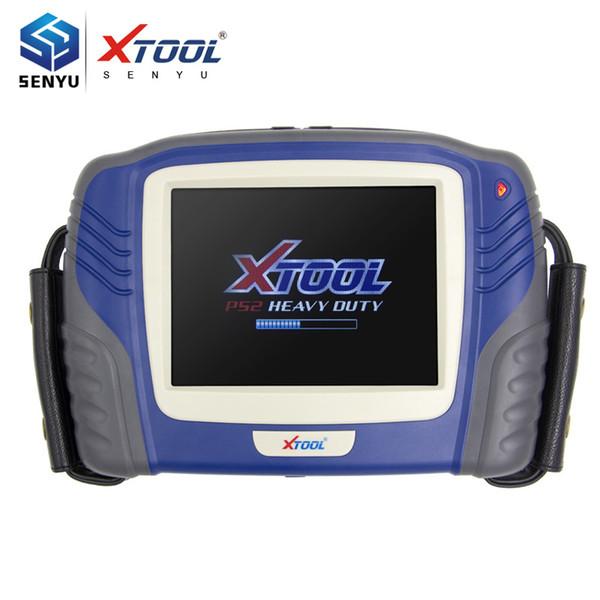100% Original Xtool PS2 Hochleistungs-Diagnosescan-Tool, das LED Scren Wireless Bluetooth für TRUCK berührt