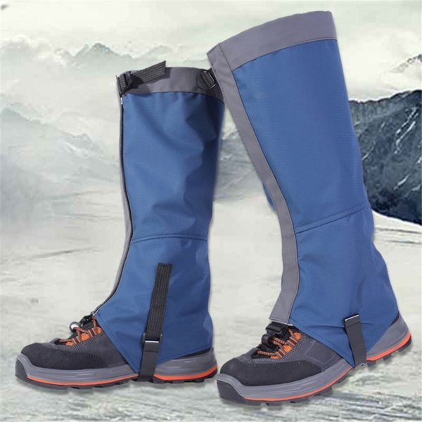 Outdoor Snow Kneepad Skiing Gaiters Hiking Climbing Leg Protection Guard Sport Safety Waterproof Leg Warmers Drop Shipping New