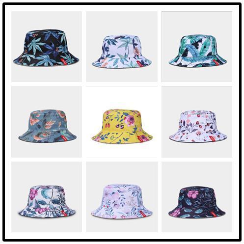 Designer Double Wear Toronto Fisherman Hats for Men Women Foldable Brim Bucket Hat Sun Shade Beach Fishing Cap