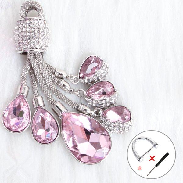 rose porte-clefs