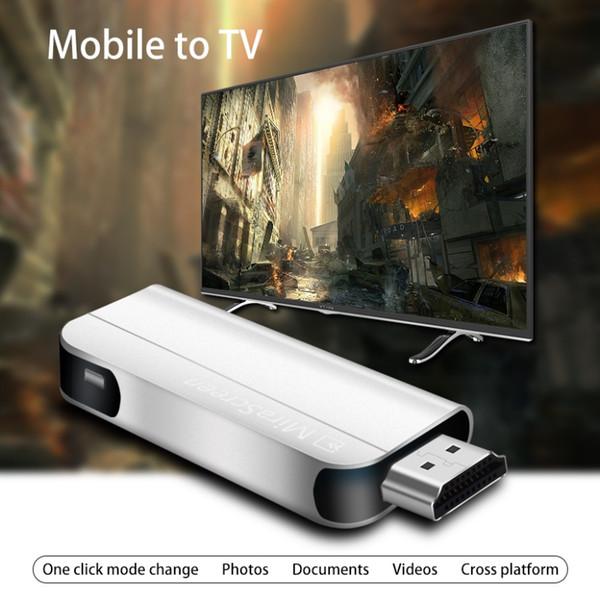 Sans fil 1080P HD Wifi Stick TV HDMI Dongle Récepteur D'affichage Miracast Airplay DLNA pour Smart Phone Tablet PC