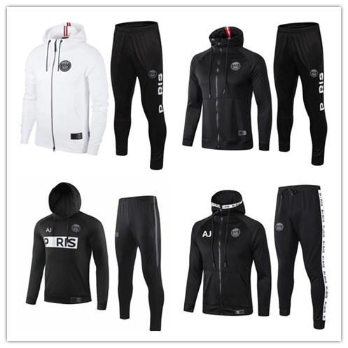2019 paris MBAPPE VERRATTI tracksuit jacket hoodie Survetement 18 19 20 paris hoodie CAVANI Football jacket TRACKSUIT training clothes