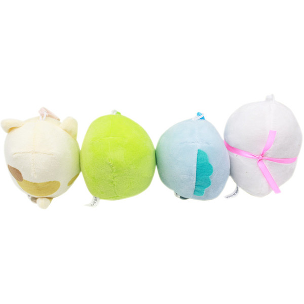 2019 Japanese Anime Sumikko Gurashi Plush Pendant San-X Corner Bio Plush Toy Handheld Biological Soft Stuffed Animals Toys Gifts 8cm C5