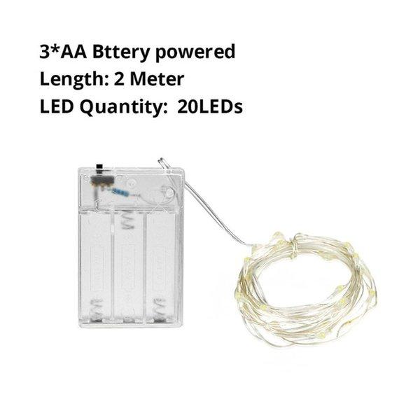 AA Pil 2M - Beyaz