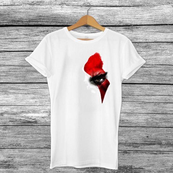 Kratos tanrı'nın savaş göz ilham erkek ps4 video oyun t-shirt baskılı üst xboxcool rahat gurur t gömlek unisex moda tshirt