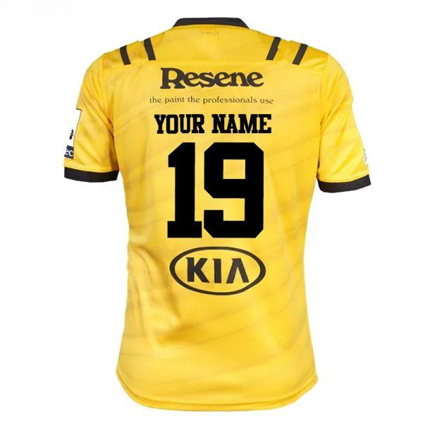 Your name and number